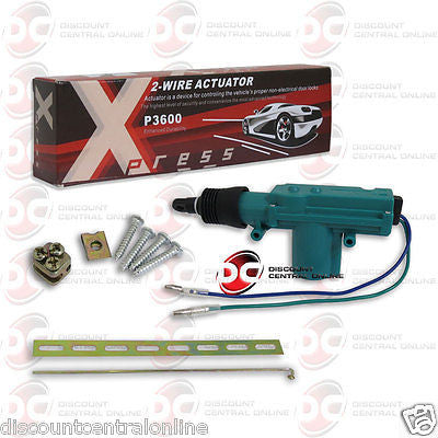 XPRESS P3600 2-WIRE UNIVERSAL CAR ALARM DOOR ACTUATOR
