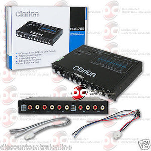 Clarion EQS755 7-band Graphic Car Equalizer