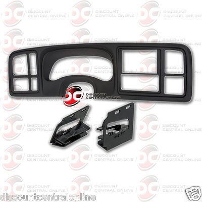 METRA DP-3002B CAR 2-DIN DASH KIT FOR SELECT 1999-2002 GM FULL SIZE TRUCK SUV
