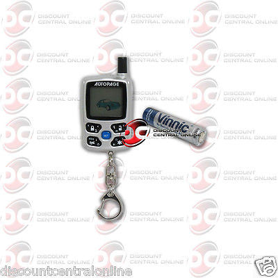 AUTOPAGE XT-72LCD REPLACEMENT REMOTE CONTROL FOR RS720LCD RS655 RS615 RS520LCD