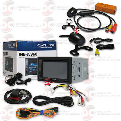 Alpine INE-W960 Media Receiver with 170° Rear Camera