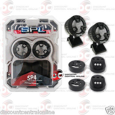 SPL SP4 1-INCH CAR AUDIO NIOBIUM MICRO DOME TWEETERS (PAIR)