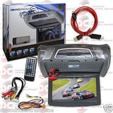 "NEW SOUNDSTREAM VCM-103DMH 10.3"" OVERHEAD MONITOR W/ DVD PLAYER WIRELESS REMOTE"