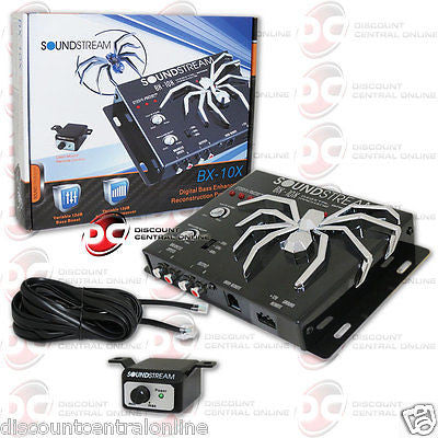 SOUNDSTREAM BX-10X CAR DIGITAL BASS PROCESSOR + REMOTE