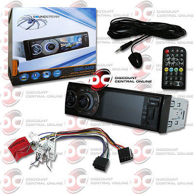 "2014 SOUNDSTREAM SINGLE DIN 3.4"" LCD SCREEN DIGITAL MEDIA STEREO USB BLUETOOTH"