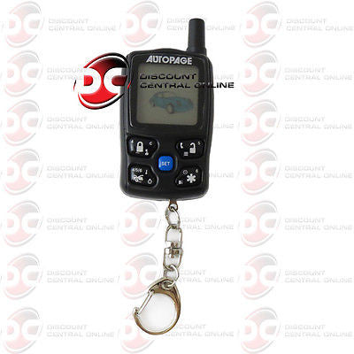 AUTOPAGE XT-73LCD REPLACEMENT REMOTE CONTROL FOR C3-RS727A-LCD CAR ALARM SYSTEMS