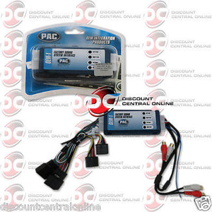 PAC AOEM-GM1416 AMPLIFIER INTEGRATION HARNESS FOR SELECT 2006-2009 GM VEHICLES
