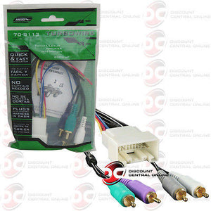 METRA 70-8113 AMPLIFIER INTEGRATION HARNESS FOR SELECT 2000-UP LEXUS TOYOTA