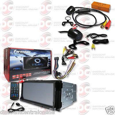 "FARENHEIT 2DIN TI-769NB 7"" TOUCHSCREEN DVD BLUETOOTH RADIO FREE 170° REAR CAMERA"