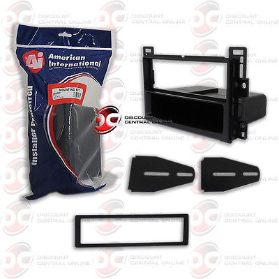 AMERICAN INTERNATIONAL GM-K350 CAR STEREO SINGLE DIN DASH KIT GMK350