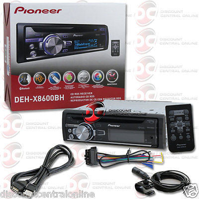 BRAND NEW PIONEER 1DIN MP3 CD PLAYER USB AUX-IN WITH BLUETOOTH PANDORA + REMOTE