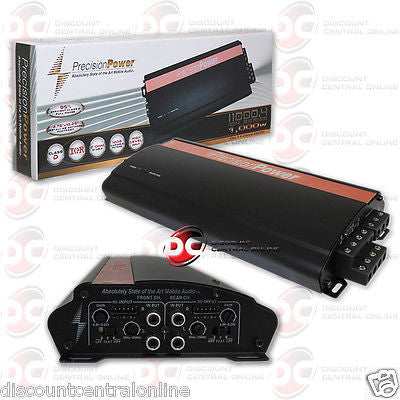 Precision power ppi i1000/4 4-channel car amplifier