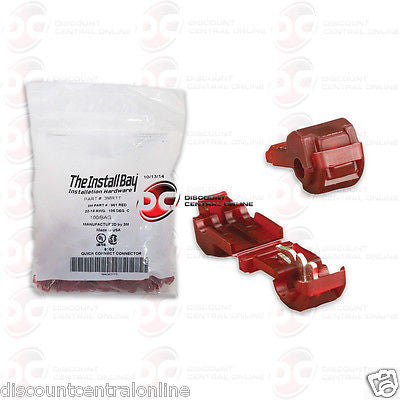INSTALL BAY 3MRTT 3M RED T-TAP 22/ 18 GAUGE 100 PCS COUNT