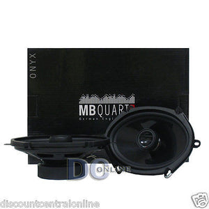 "MB QUART ONX157 5"" x 7""/ 6"" x8"" CAR AUDIO 2-WAY COAXIAL SPEAKERS (PAIR)"