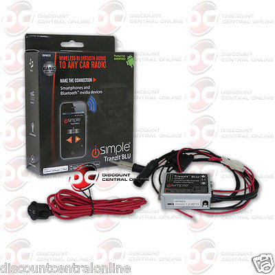 ISIMPLE CAR KIT BLUETOOTH MUSIC STREAMING FOR SELECT APPLE IPHONE