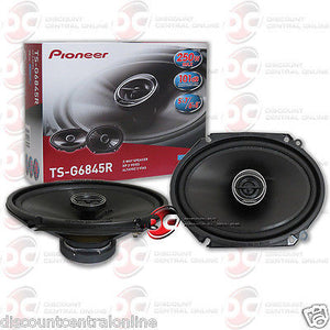 "Pioneer TS-G6845R  6x8"" Car Audio 2-way Coaxial Speakers"