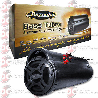 NEW BAZOOKA BT1014 10-INCH NON AMPLIFIED CAR AUDIO PORTED SUB WOOFER BASS TUBE
