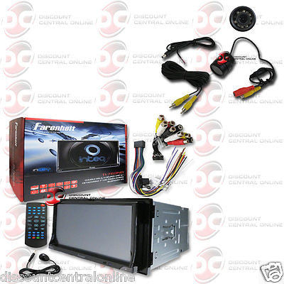 "FARENHEIT 2DIN TI-769NB 7"" TOUCHSCREEN DVD BLUETOOTH STEREO FREE REARVIEW CAMERA"