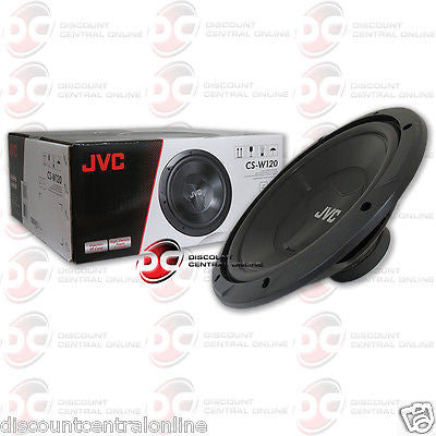 "BRAND NEW JVC 12-INCH 12"" CAR AUDIO SHALLOW-MOUNT SINGLE 4-OHM SUB WOOFER"