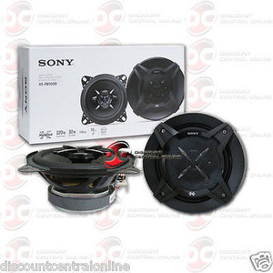 "SONY XS-FB1030 4"" 3-WAY CAR AUDIO COAXIAL SPEAKERS (PAIR)"
