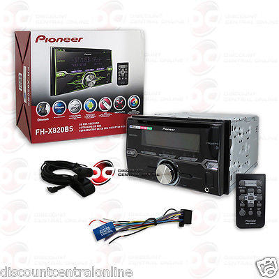PIONEER DOUBLE DIN CAR STEREO MP3 CD PLAYER W/ BLUETOOTH & SIRI EYES READY