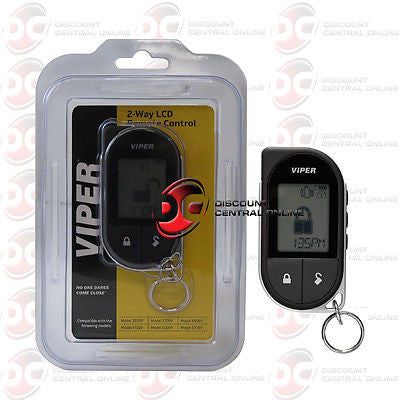 Viper 7756v 2 way lcd replacement remote for 3606v 3706v 4606v 4706v 5606v 5706v