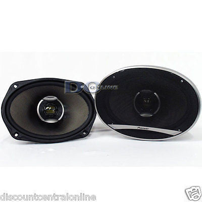 "BRAND NEW PIONEER 6x9-INCH 6 x 9"" 2-WAY CAR AUDIO COAXIAL SPEAKERS (PAIR)"