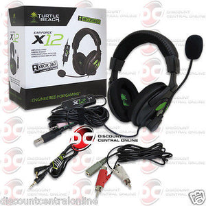 turtle beach x12 hook up to pc