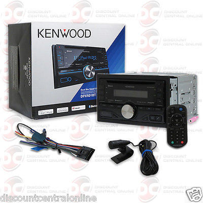 2015 KENWOOD CAR DOUBLE DIN MP3 CD PLAYER W/ BLUETOOTH USB AUX-IN & IPOD CONTROL