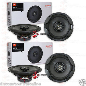 2 x JBL By Harman Gt7-6 6.5-inch 2-way Car Audio Coax Speakers