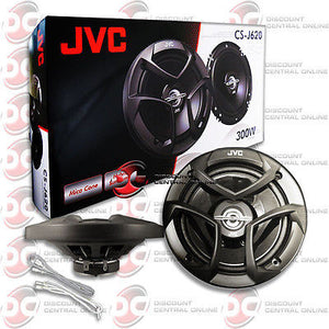 "BRAND NEW JVC 6.5-INCH 6-1/2"" CAR AUDIO 2-WAY COAX SPEAKERS (PAIR)"