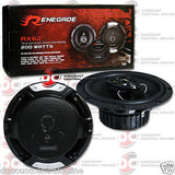"RENEGADE RX62 6.5"" 3-WAY CAR COAXIAL SPEAKERS + RX6.2C 6.5"" 2-WAY COMPONENT SPEAKERS"
