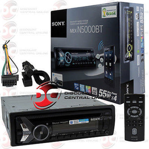 SONY CAR MP3/CD STEREO W/ FRONT USB INPUT PANDORA BLUETOOTH AND NFC  TECHNOLOGY