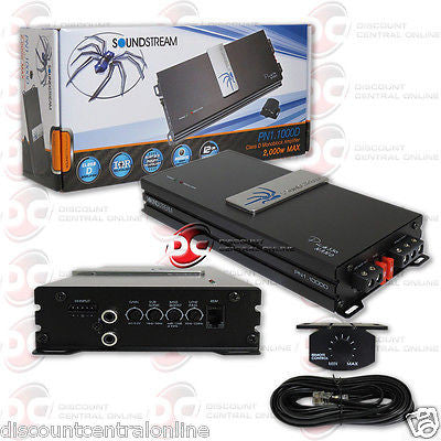 SOUNDSTREAM PN1.1000D MONOBLOCK CAR MOTORCYCLE AMPLIFIER 1000W MAX