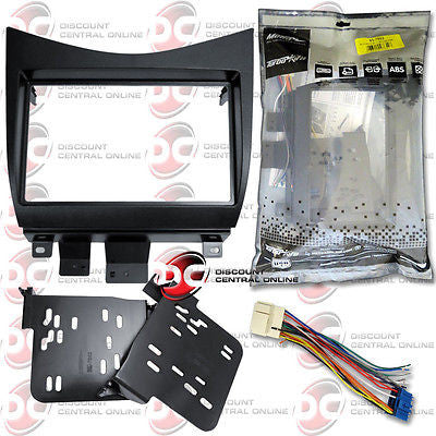 METRA 95-7862 CAR DOUBLE DIN DASH KIT FOR 2003-2007 HONDA ACCORD VEHICLES