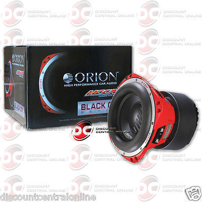 "BRAND NEW ORION HCCA104 10-INCH 10"" CAR AUDIO DUAL 4-OHM SUB WOOFER 1500W RMS"