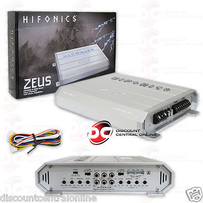 2015 BRAND NEW HIFONICS 4-CHANNEL CLASS AB CAR AUDIO AMP AMPLIFIER