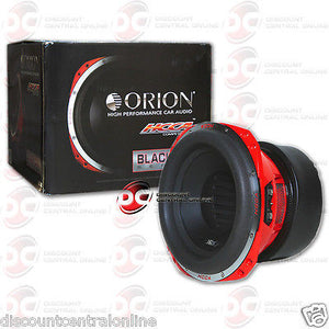 "BRAND NEW ORION HCCA124 12-INCH 12"" CAR AUDIO DUAL 4-OHM SUB WOOFER 2500W RMS"
