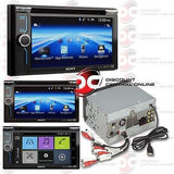 "2014 SONY 6.1"" TOUCHSCREEN DVD CD STEREO BLUETOOTH PANDORA SIRI & MIRROR LINK"
