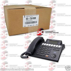PANASONIC 4 LINE CORDED BUSINESS PHONE EXPANDABLE TO 16 STATIONS W/ SPEAKERPHONE