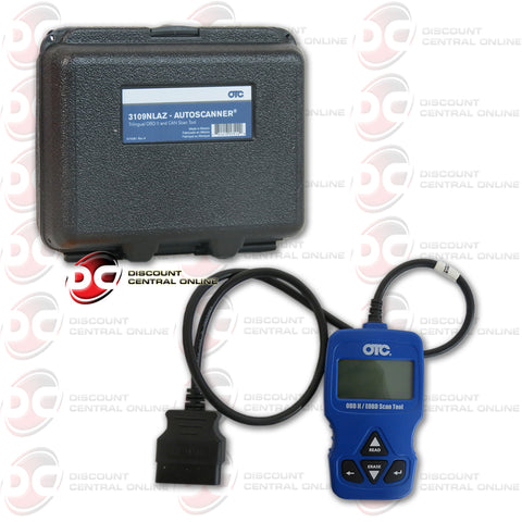 OTC-3109NLAZ AUTO SCANNER/TRILLINGUAL OBD II AND CAN SCAN TOOL