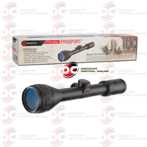 Simmons 510484 ProHunter Rifflescope