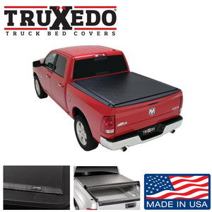 "TRUXEDO LO PRO ROLL UP BED COVER FOR 2009-2018 DODGE RAM 1500 6'4"" BED W/O RAMBOX"