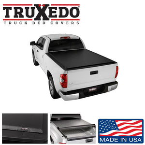 "TRUXEDO LO PRO ROLL UP BED COVER 2007-2020 TOYOTA TUNDRA 5'6"" BED WITH DECK RAIL SYSTEM"