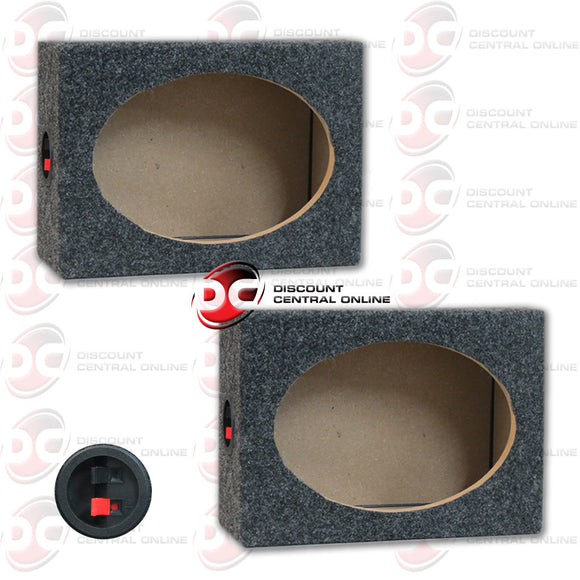 Two Speaker Housing Boxes for 6x9 Speakers