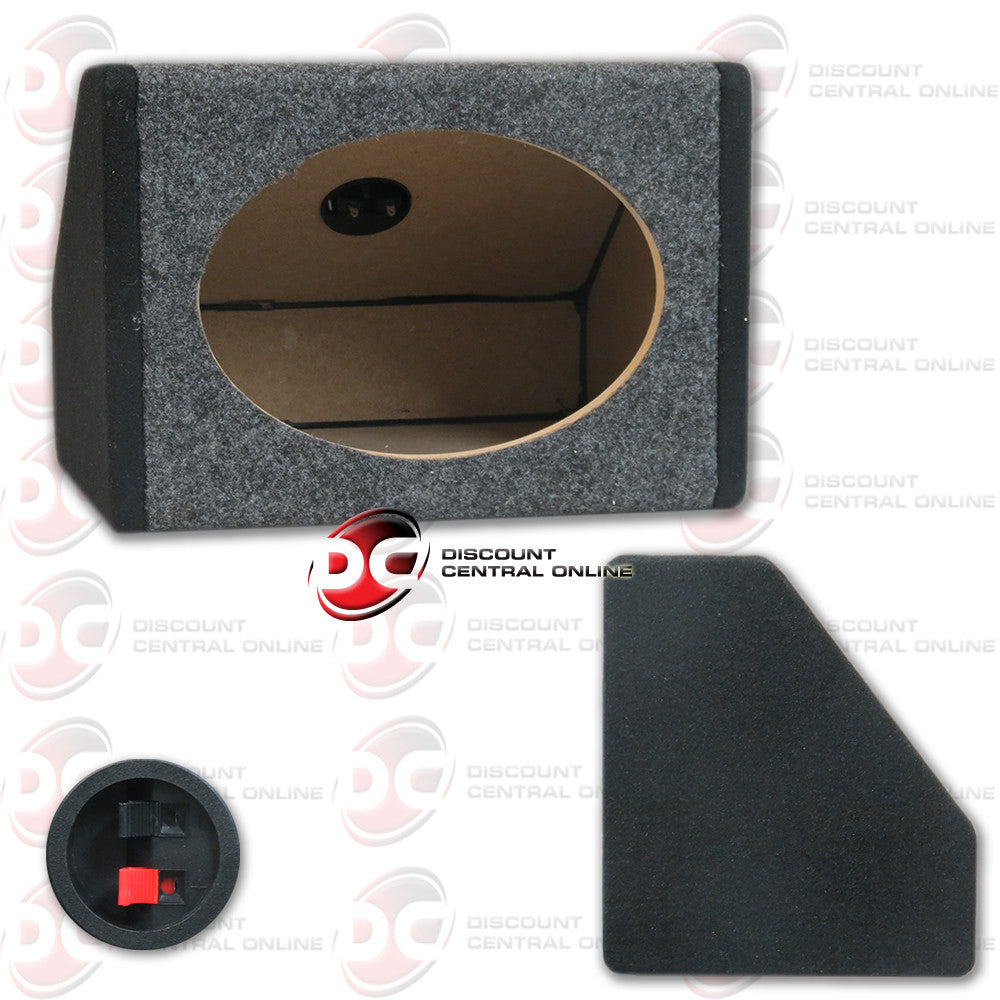 Angled Speaker Housing Box for 6x9 Speakers