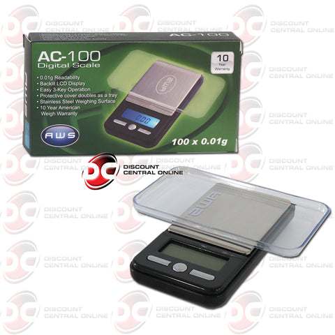 American Weight Scales AC-100 Digital Pocket Scale