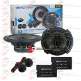 "SOUNDSTREAM AC.6 6.5"" CAR AUDIO COMPONENT SPEAKER SYSTEM (ARACHNID SERIES )"