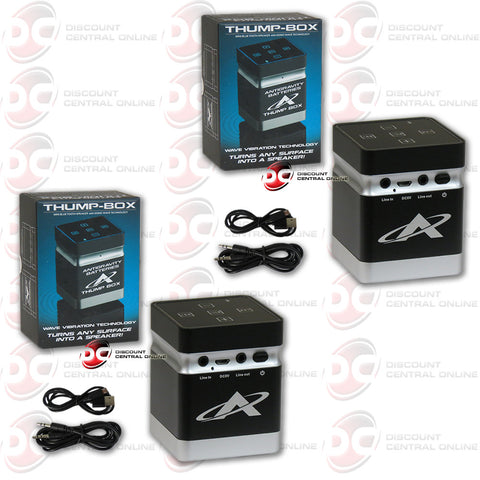 2X ANTIGRAVITY TB-1 THE THUMP BOX: BLUETOOTH SPEAKER (AG-TB-01)