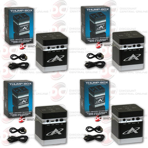 4 X ANTIGRAVITY TB-1 THE THUMP BOX: BLUETOOTH SPEAKER (AG-TB-01)